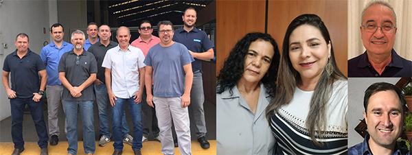 Colaboradores na Filial Mirassol.