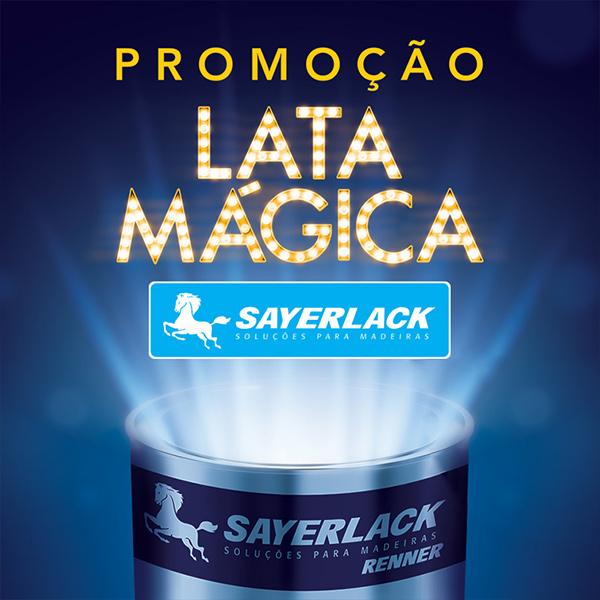 Promoção Lata Mágica Sayerlack